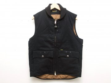 BLUCO [ RIB WORK VEST ] BLACK