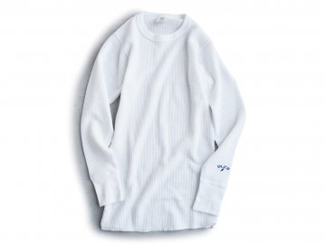 Delicious [ JEMORGAN L/S Thermal ] WHITE