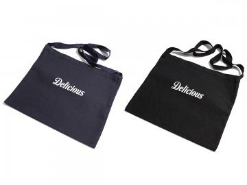 Delicious [ Core Logo Small Messenger Bag ] 2 COLORS