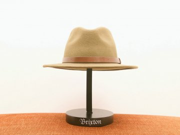 BRIXTON [ MESSER FEDORA ] LIGHT OLIVE