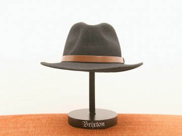 BRIXTON [ MESSER FEDORA ] BLACK