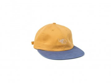 Good Worth & Co. [ LIT STRAPBACK ] SQUASH x SLATE BLUE