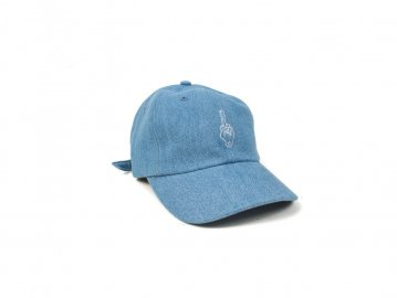 Good Worth & Co. [ BEST WISHES KEY STRAPBACK ] DENIM