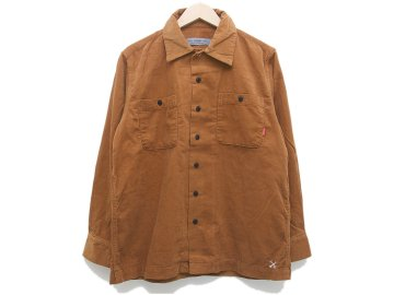 BLUCO [ CORDUROY WORK SHIRTS L/S ] CAMEL