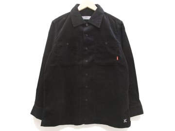 BLUCO [ CORDUROY WORK SHIRTS L/S ] BLACK