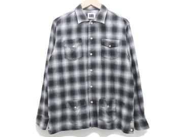 melple [ W Gauze Cuban L/S Shirts ]