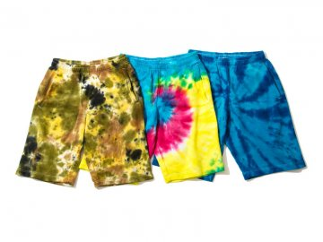 68&BROTHERS [ Tie dye Sweat Shorts ] 3 COLORS
