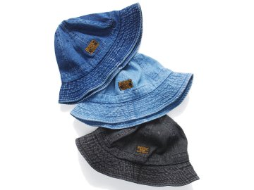 SKITLABEL [ 6 PANEL DENIM BALL HAT ] 3 COLORS