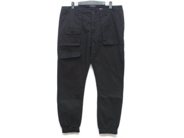 SKITLABEL [ Fatigue Pants ] BLACK