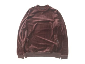 68&BROTHERS [ Velour Crew Neck