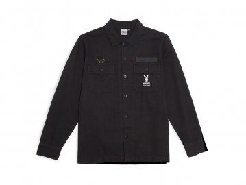 Good Worth & Co. x PLAYBOY [ BDU Souvenir Jacket ] BLACK