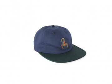 Good Worth & Co. [ Scorpion 6 Panel Strapback Cap ]