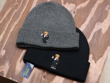 POLO RALPHLAUREN [ POLO BEAR BEANIE