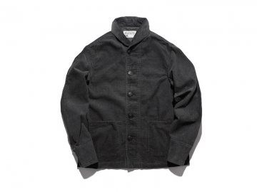3 Days Union by WORKWARE [ SHAWL COLLAR CORD JACKET ] D.GRAY