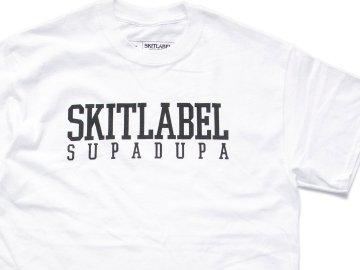 SKITLABEL [ OG LOGO S/S TEE ] WHITE