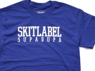 SKITLABEL [ OG LOGO S/S TEE ] METRO BLUE