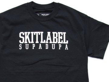 SKITLABEL [ OG LOGO S/S TEE ] BLACK