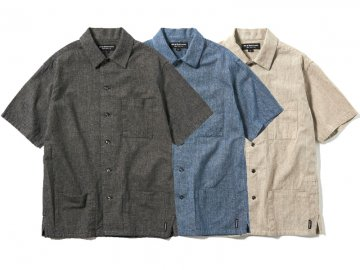 68&BROTHERS [ S/S Open collar Shirts ] 3 COLORS
