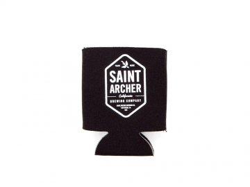 SAINT ARCHER BREWING CO. [ BEER KOOZIE ] BLACK