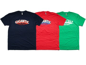 GIGANTIC BREWING [ LOGO T-SHIRT ] 3 COLORS
