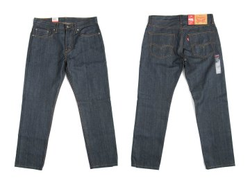 Levi's USA [ 502 Regular Taper Fit Jeans ] RAW UNWASHED