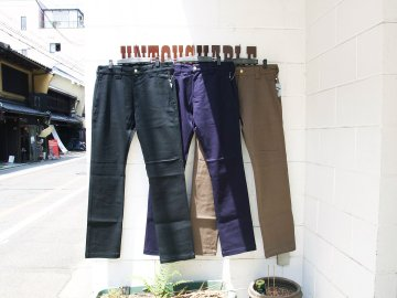 BLUCO [ SLIM WORK PANTS -Stretch- ] 3 COLORS