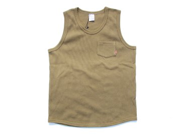 BLUCO [ THERMAL TANKTOP ] OLIVE
