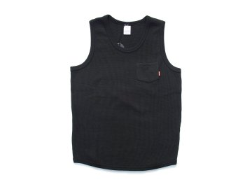 BLUCO [ THERMAL TANKTOP ] BLACK