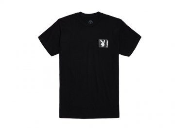 Good Worth & Co. x PLAYBOY [ PLAYBOY GRID TEE ] BLACK