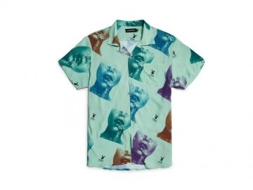 Good Worth & Co. x PLAYBOY [ PLAYBOY STAMP BUTTON-UP ]