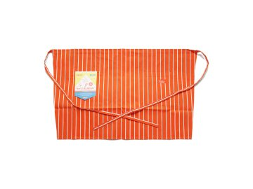 COOKMAN [ Waist Apron ] ORANGE STRIPE