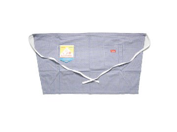 COOKMAN [ Waist Apron ] GINGHAM CHECK