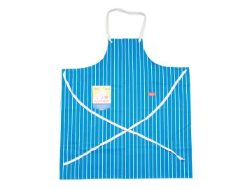 COOKMAN [ Long Apron ] BLUE STRIPE