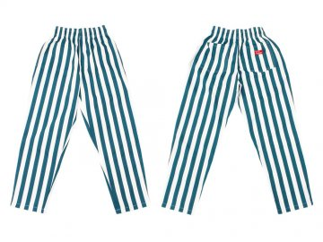 COOKMAN [ Chef Pants ] WIDE STRIPE