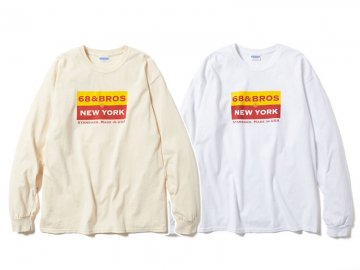 68&BROTHERS [ L/S Tee