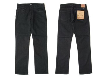 BRIXTON [ RESERVE 5-POCKET DENIM PANT ] BLACK