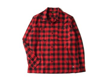 BLUCO [ BUFFALO CHECK SHIRTS ] RED