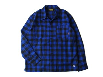 BLUCO [ BUFFALO CHECK SHIRTS ] BLUE