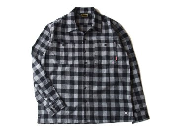 BLUCO [ BUFFALO CHECK SHIRTS ] GRAY