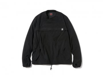 68&BROTHERS [ Fleece Utility Crew ] BLACK