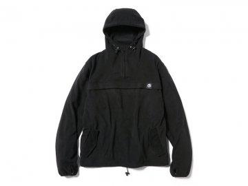 68&BROTHERS [ Fleece Utility Hood ] BLACK