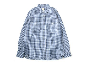 F.O.B FACTORY [ GINGHAM WORK SHIRT ]