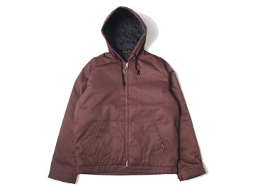 BLUCO [ HOODIE WORK JACKET ] BROWN