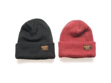 SKITLABEL [ LIGHT WEIGHT BEANIE ] 2 COLORS
