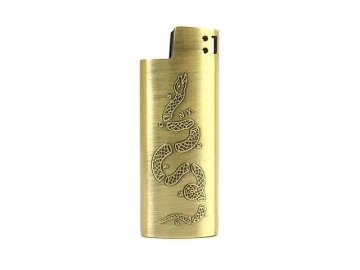 Good Worth & Co. [ Join or Die Lighter Case (SMALL) ]
