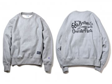 68&BROTHERS x UNTOUCHABLE [ Crew Sweat