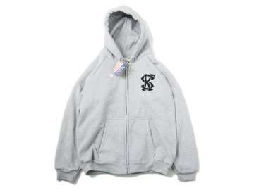 SKITLABEL [ THERMAL ZIP CAMBER HOOD ] H.GRAY