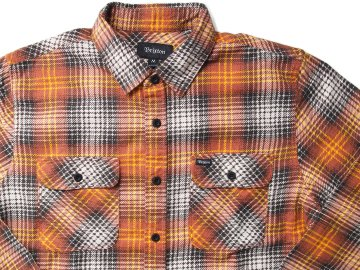 BRIXTON [ BOWERY LIGHTWEIGHT L/S FLANNEL ]