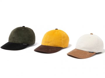 68&BROTHERS [ Corduroy 2tone Cap ] 3 COLORS