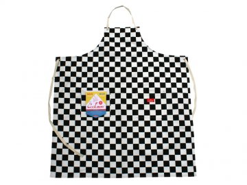 COOKMAN [ Long Apron ] CHECKER